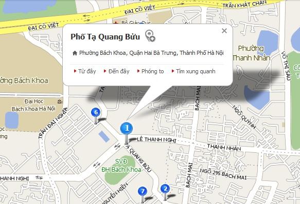 Tạ Quang Bửu - Hà Nội